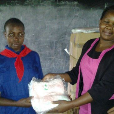 Oigara Community Foundation provides hygiene towels to Tindereti Primary School